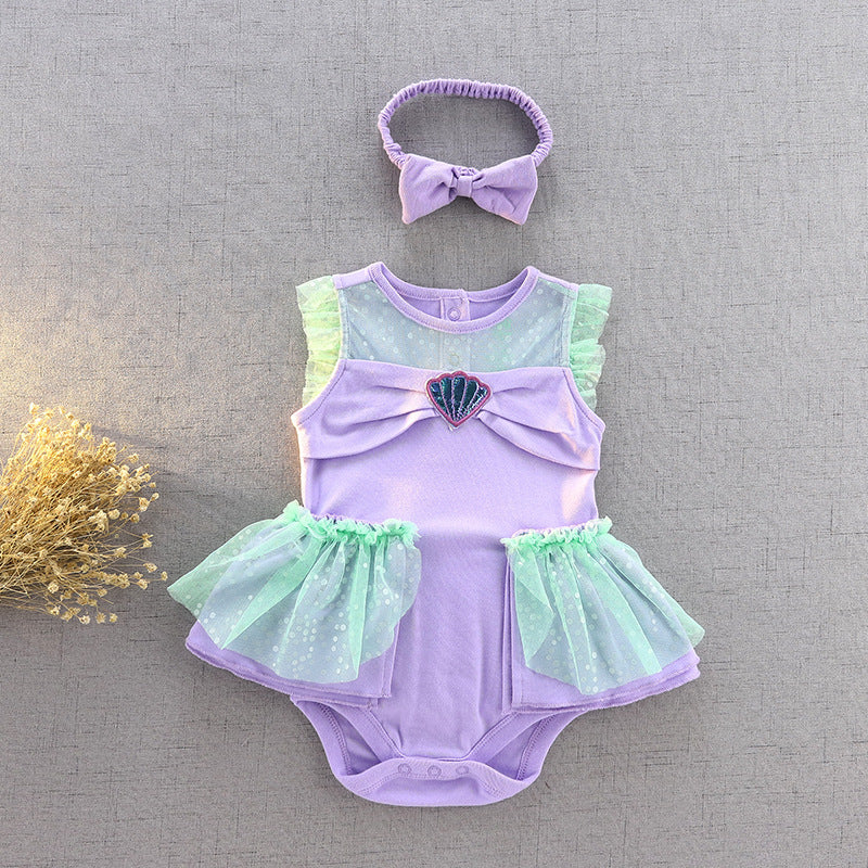 Little Mermaid Infant Costume