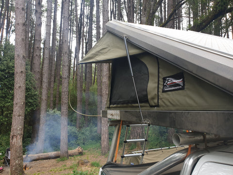Bush Co Black Series DELTA  Roof Top Tent