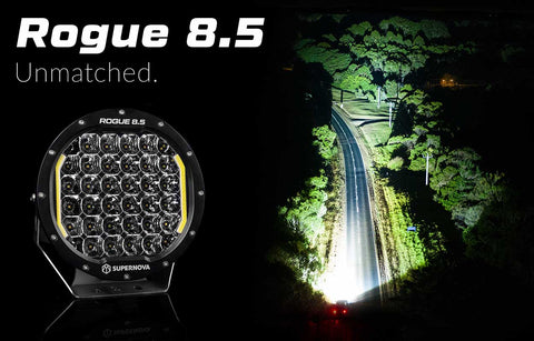 Supernova Rogue 8.5″ LED Driving Lights (Pair)