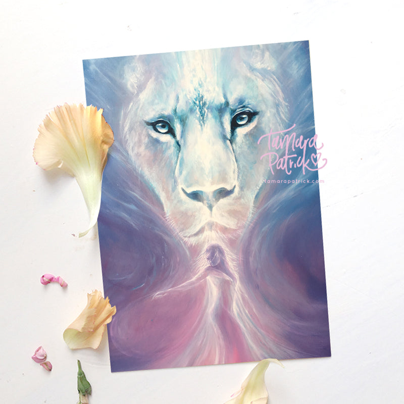 'The Lioness is Awakened' A4 Artprint