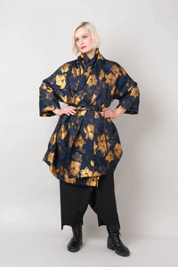 Alembika Gold Brocade Jacket - AJ500G