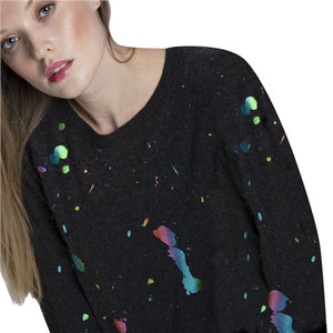 Brodie Cashmere Rainbow Foil Jumper - 20A - 539