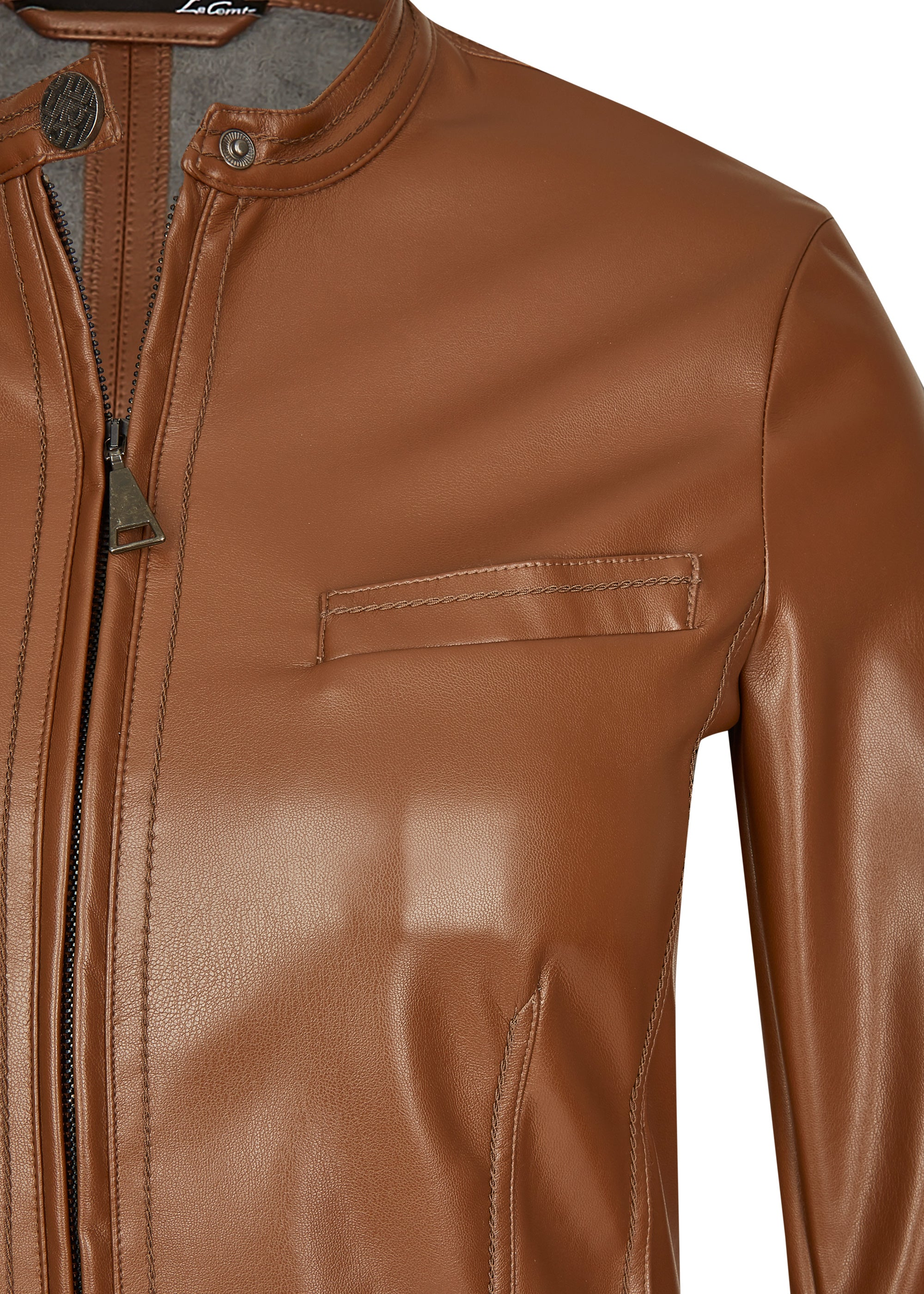 Le Comte Faux Leather Jacket 611022