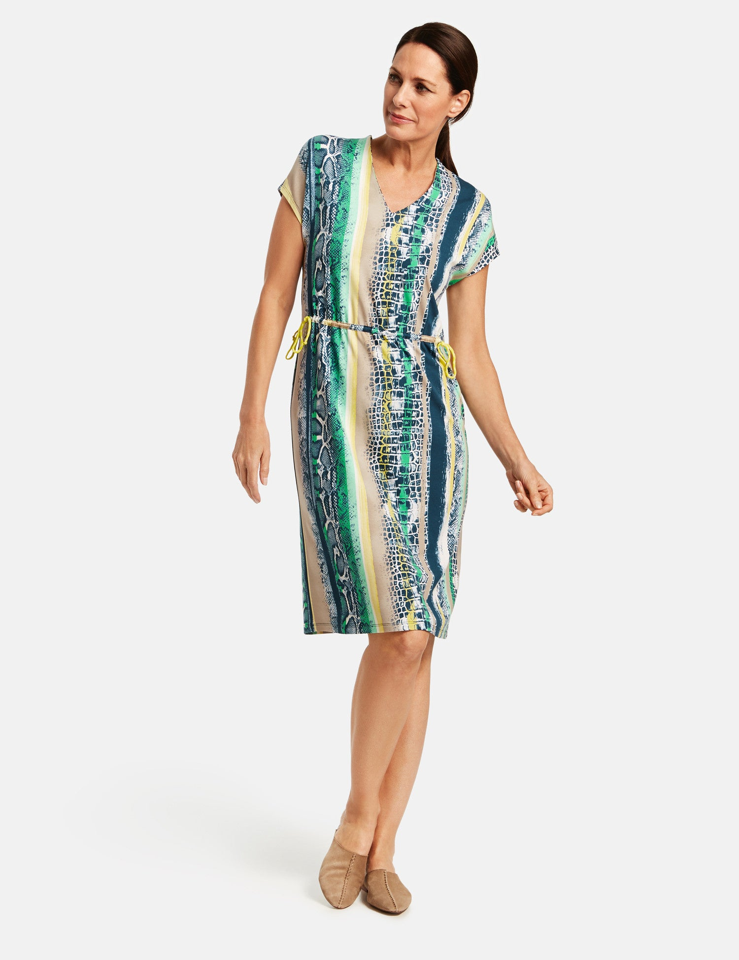 Gerry Weber Draw String Waist Dress 285286
