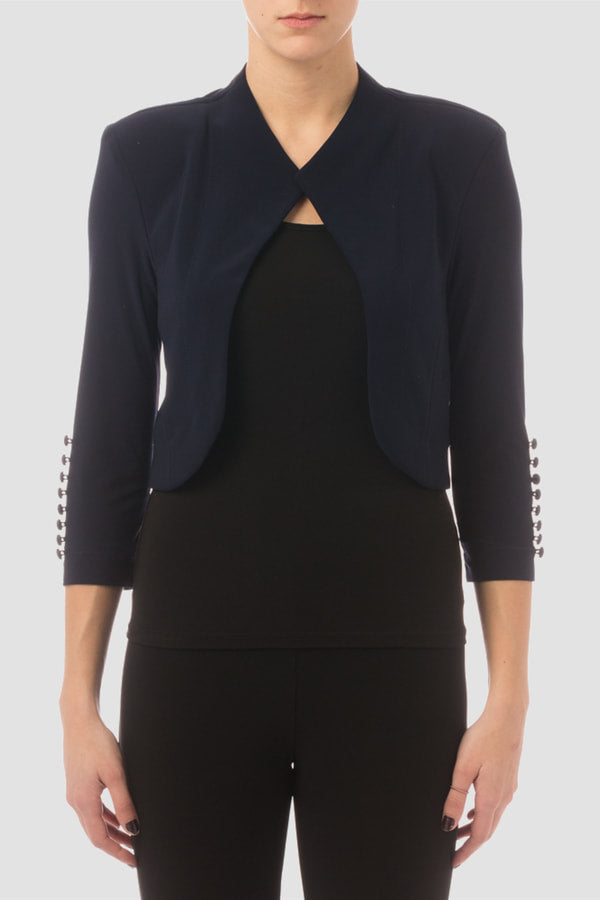 32083 Joseph Ribkoff Bolero Midnight Blue