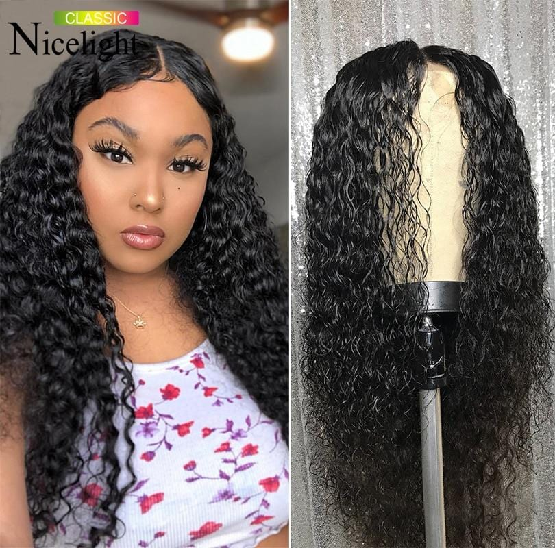 Mongolian Kinky Curly Wig Frontal Wigs Curly Short Lace Front Human Hair Wigs 13X4/13x6 Lacefront Wig Hair Transparent Lace Wigs