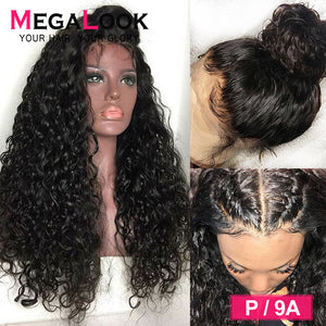 13x6 Lace Front Wig Water Wave Wig 13x4 30 Inch Wigs Hd Remy 360 Lace Frontal Wig Pre Plucked With Baby Hair Human Hair Wig