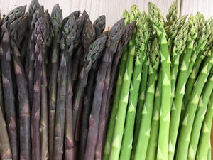 Asparagus Green Crown x 2 -  Organic Heirloom vegetable seed Australia LifeForce Seeds