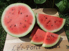 Load image into Gallery viewer, Watermelon, Blacktail Mountain -  Organic Heirloom vegetable seed Australia LifeForce Seeds