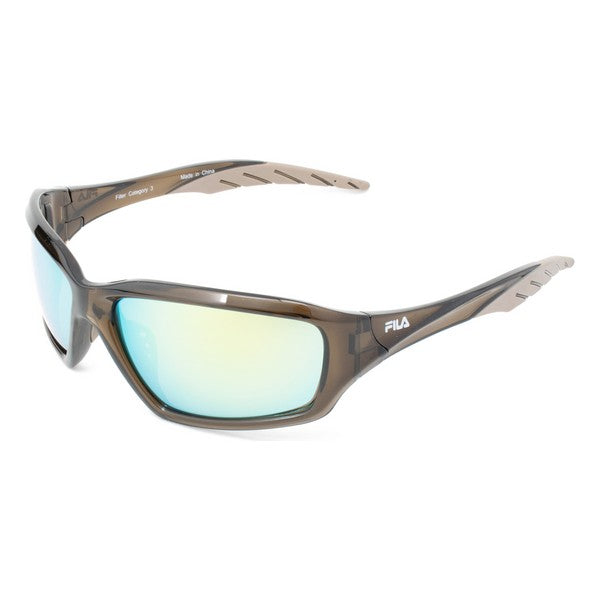 Unisex Sunglasses Fila SF202-63C2 Brown (ø 63 mm)