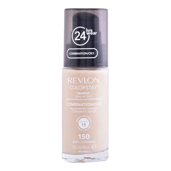 Fluid Foundation Make-up Colorstay Revlon (30 ml) Oily skin