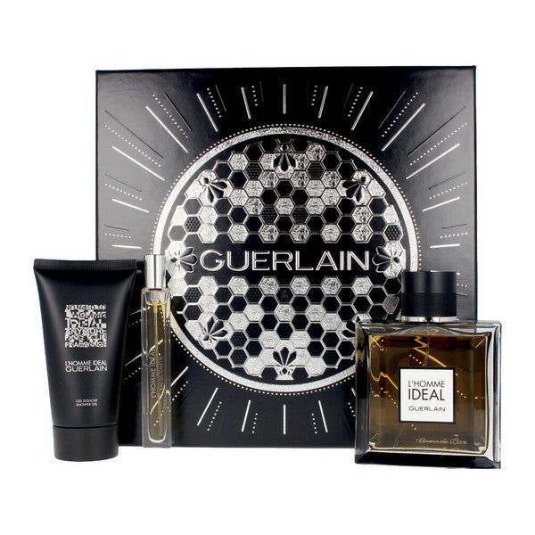 Men's Perfume Set L'homme Ideal Guerlain EDT (3 pcs)