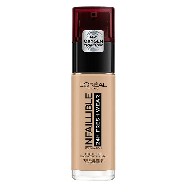 Crème Make-up Base Infaillible 24h L'Oreal Make Up 235 Honey (30 ml)
