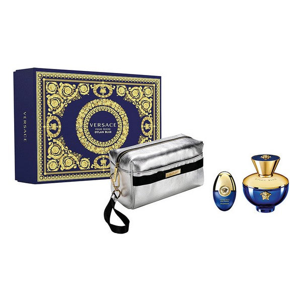 Women's Perfume Set Dylan Blue Femme Versace EDT (3 pcs)