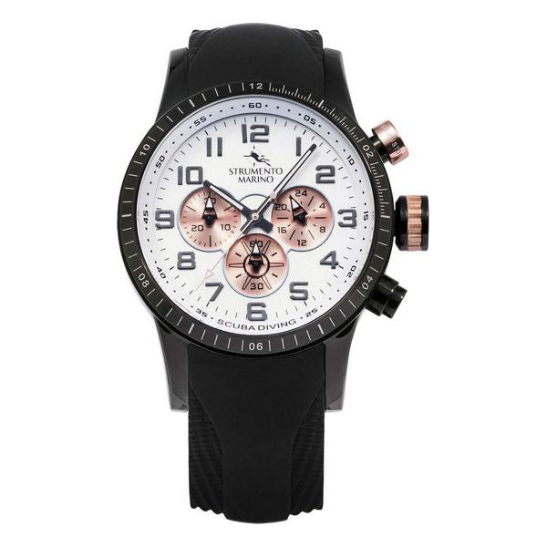 Men's Watch Strumento Marino SM132S-BK-BN-RG-NR (Ø 46 mm)