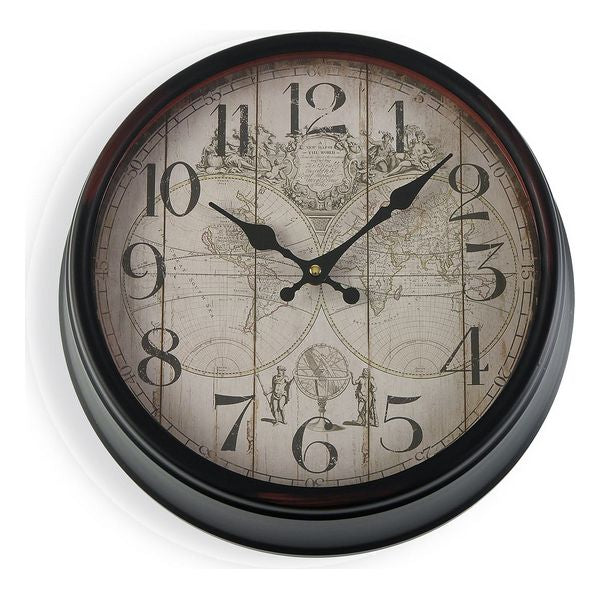 Wall Clock Metal (36 x 12,5 x 36 cm)