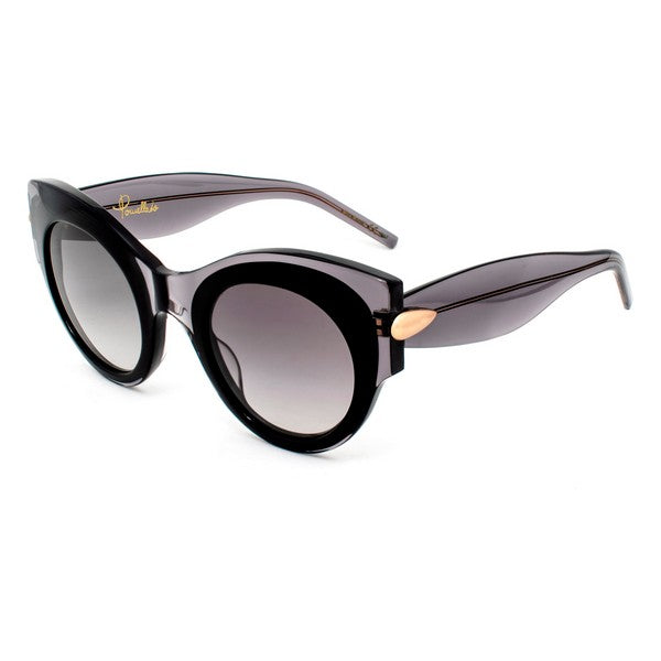 Ladies' Sunglasses Pomellato PM0007S-003 (Black) (Ø 48 mm)