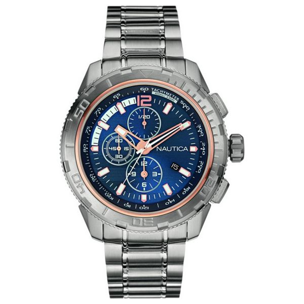 Men's Watch Nautica NAI24500G (45 mm)