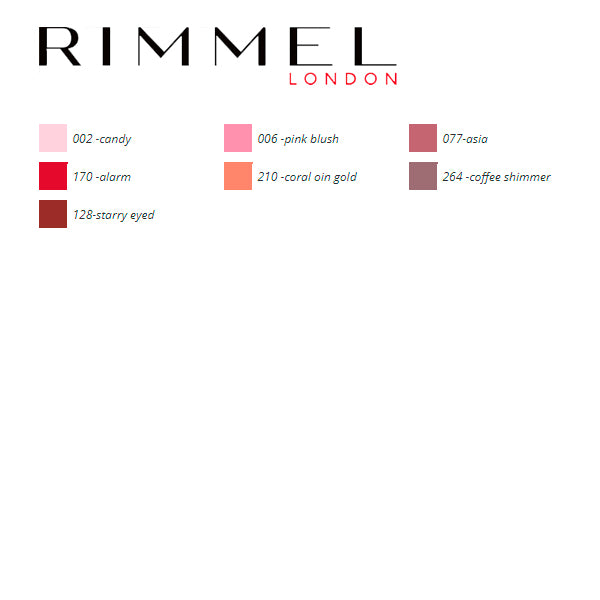 Lipstick Lasting Finish Rimmel London