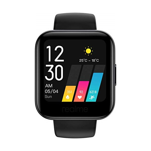 "Smartwatch Realme Watch 161 1,4"" 160 mAh Bluetooth 5.0 Black"