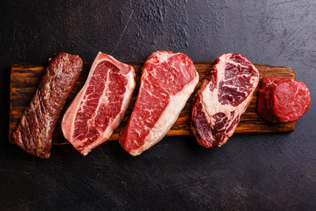 28-Day Aged USDA Angus Beef Steaks - Meat Depot | Buy Quality Meats and Seafood Online