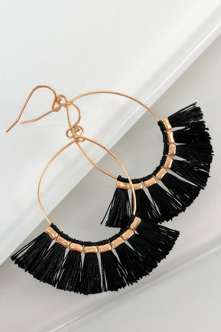 Delicate Tassel Earrings
