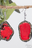 Ready to Rock Stone Drop Earrings