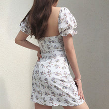 Load image into Gallery viewer, White Casual Floral Women Dress