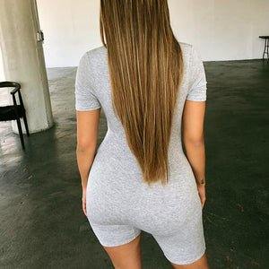 Bodycon Playsuit Women Sexy Jumpsuit