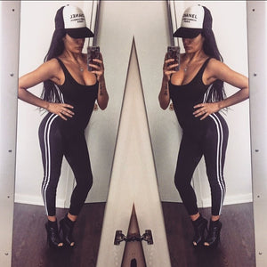 Women Clothing Bodysuits Sexy Backless Sports