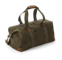 Laden Sie das Bild in den Galerie-Viewer, Heritage Waxed Canvas Holdall