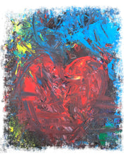 Laden Sie das Bild in den Galerie-Viewer, Abstract THE HEART Shirt W