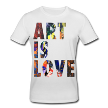 Laden Sie das Bild in den Galerie-Viewer, Abstract ART IS LOVE T-Shirt - Weiß