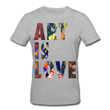 Laden Sie das Bild in den Galerie-Viewer, Abstract ART IS LOVE T-Shirt - Grau meliert