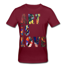 Laden Sie das Bild in den Galerie-Viewer, Abstract ART IS LOVE T-Shirt - Burgunderrot