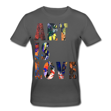 Laden Sie das Bild in den Galerie-Viewer, Abstract ART IS LOVE T-Shirt - Anthrazit
