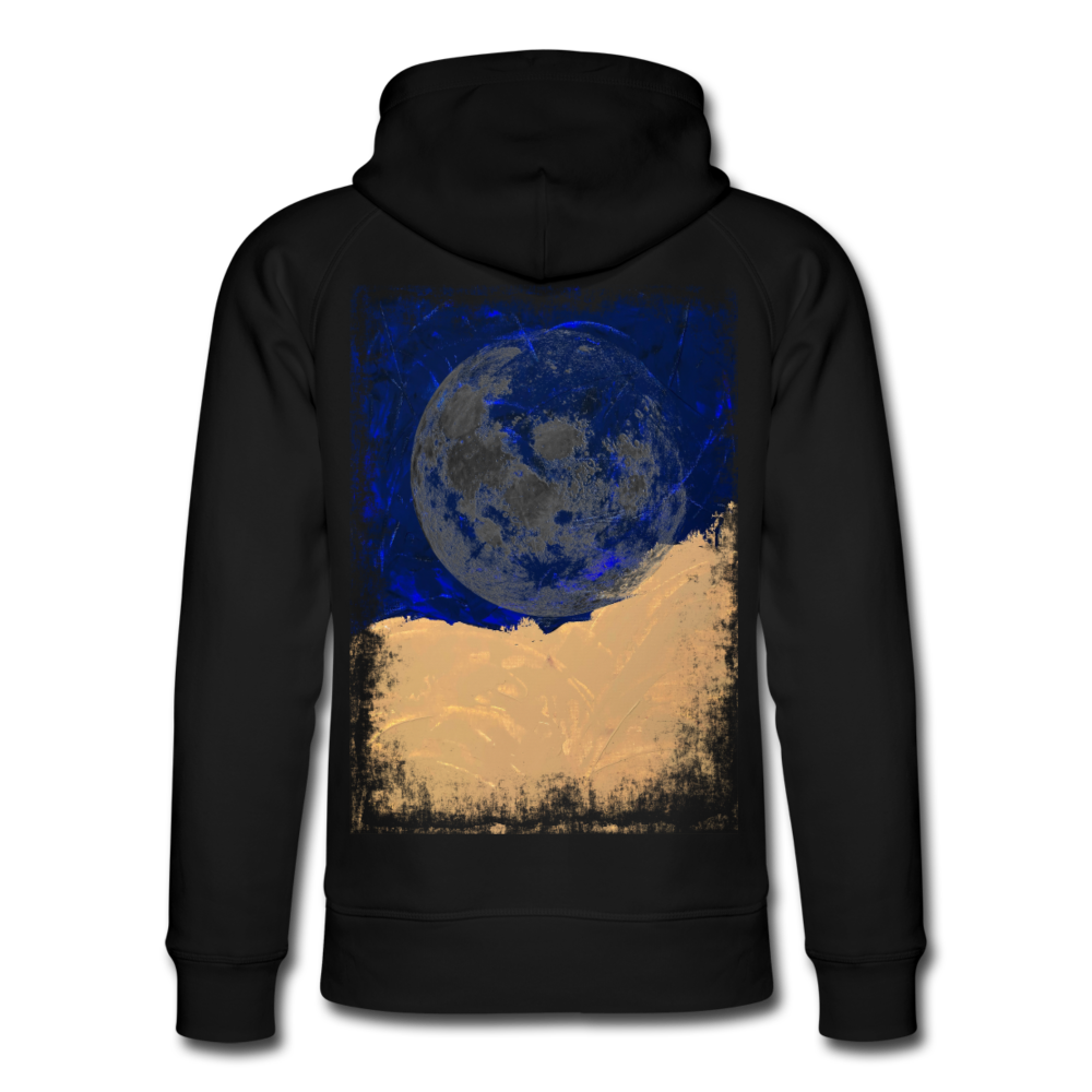Abstract THE MOON Hoodie - Schwarz