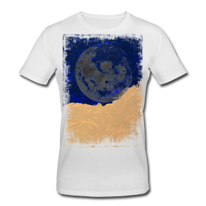 Abstract THE MOON Shirt M - Weiß