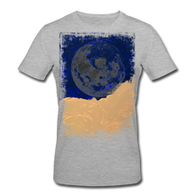 Laden Sie das Bild in den Galerie-Viewer, Abstract THE MOON Shirt M - Grau meliert