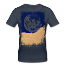 Laden Sie das Bild in den Galerie-Viewer, Abstract THE MOON Shirt M - Navy