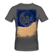 Laden Sie das Bild in den Galerie-Viewer, Abstract THE MOON Shirt M - Anthrazit