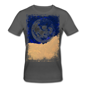 Abstract THE MOON Shirt M - Anthrazit
