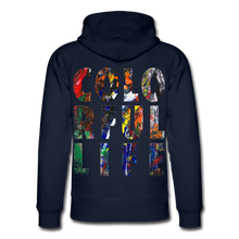 Laden Sie das Bild in den Galerie-Viewer, Abstract COLORFUL LIFE Hoodie - Navy