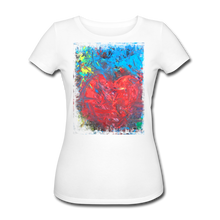 Laden Sie das Bild in den Galerie-Viewer, Abstract HEART Shirt W - Weiß