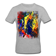 Laden Sie das Bild in den Galerie-Viewer, Abstract I Shirt M - Grau meliert