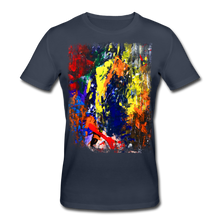 Laden Sie das Bild in den Galerie-Viewer, Abstract I Shirt M - Navy