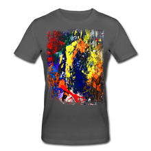 Laden Sie das Bild in den Galerie-Viewer, Abstract I Shirt M - Anthrazit