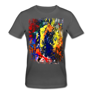 Abstract I Shirt M - Anthrazit