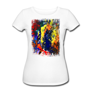 Abstract I Shirt W - Weiß
