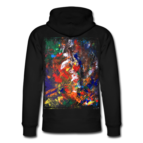Abstract THE HERBST Hoodie - Schwarz